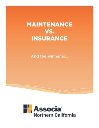 Maintenance vs. Insurance