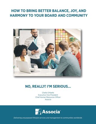 How to Bring Better Balance, Joy & Harmony to Your Board and Community