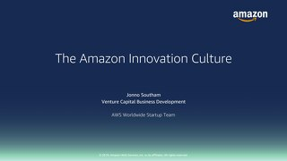 Innovation at Amazon