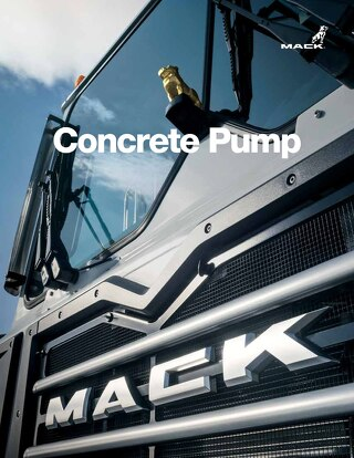 Mack for Concrete Pumping