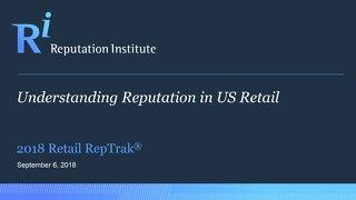 2018 US Retail RepTrak Report