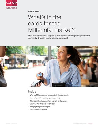 Whats in the Cards for the Millennial Market White Paper