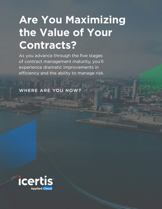Are You Maximizing the Value of Your Contracts? (Contract Maturity Assessment)