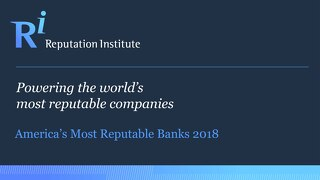 2018 US Bank RepTrak