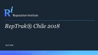 2018 Chile RepTrak