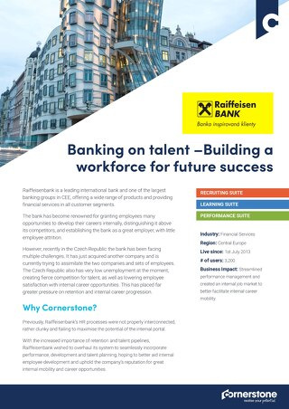 Case Study Raiffeisen: Banking on talent – Building a workforce for future success