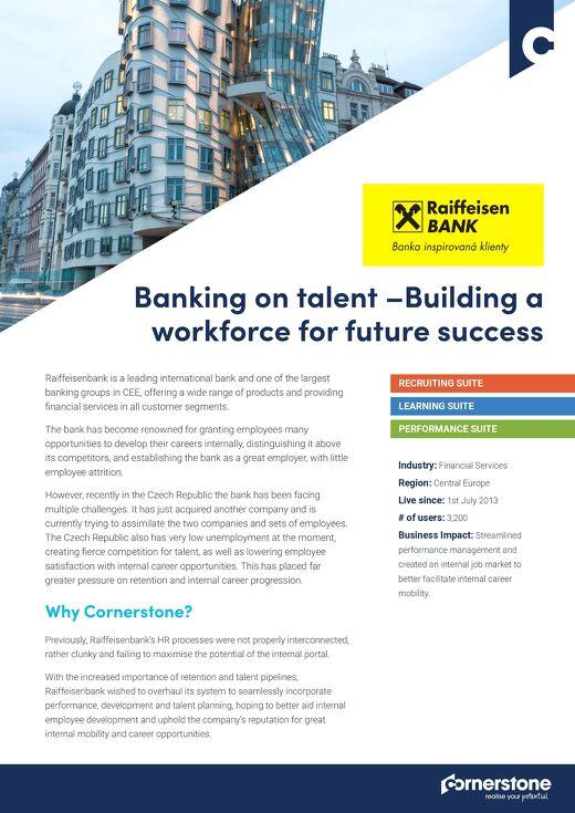 Fallstudie Raiffeisenbank