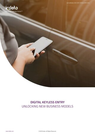White Paper: Digital Keyless Entry - Unlocking new business models
