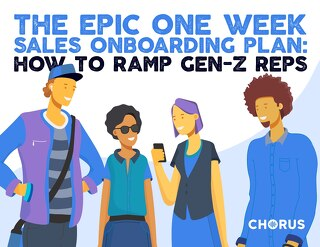 The Epic One Week Sales Onboarding Plan: How to Ramp Gen-Z Sales Reps