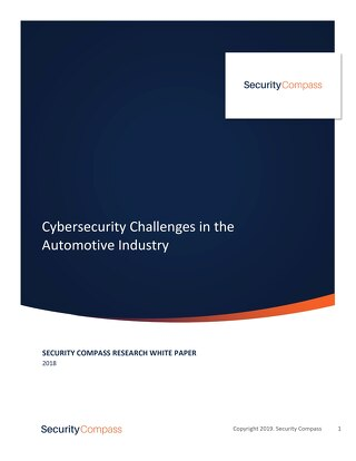 Cybersecurity Challenges in the Automotive Industry
