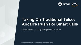 [Aircall] Taking On Traditional Telco Aircall's Push for Smarter Calls