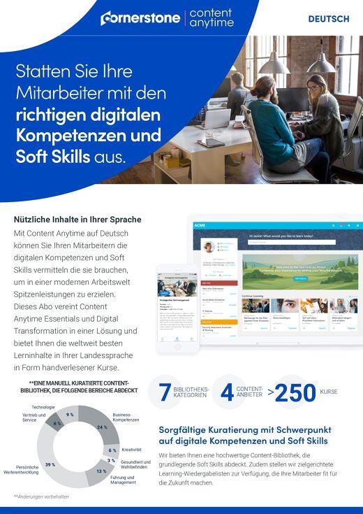 Datenblatt - Content Anytime