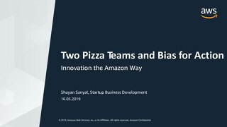 [AWS] Innovation the Amazon Way