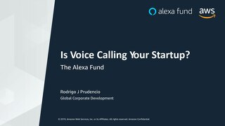 [Alexa] Is Voice Calling Your Startup