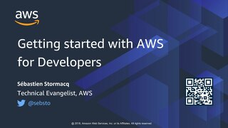 [AWS] Getting started with AWS for Developers