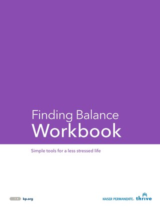 Finding Balance: Employee Workbook