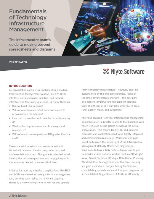 Fundamentals of Technology Infrastructure Management