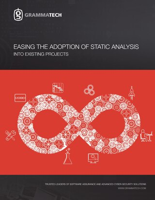 Easing the Adoption of Static Analysis into Existing Projects