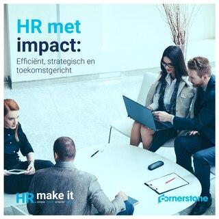 HR met impact - Efficiënt, strategisch en toekomstgericht