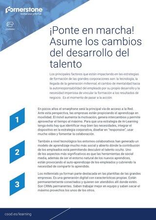 Claves para triunfar con la estrategia de desarrollo del talento