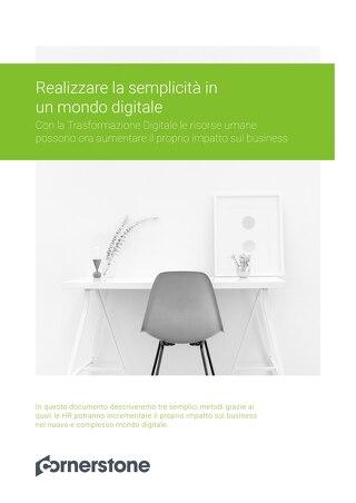 Realizzare la semplicità in un mondo digitale