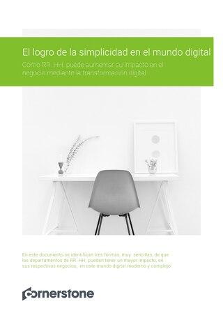 El logro de la simplicidad en el mundo digital
