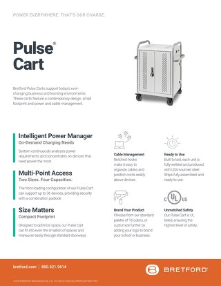Pulse S Cart Features & Benefits