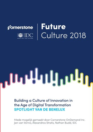 Future Culture - Building a culture of innovation in the age of digital transformation - Spotlight van de benelux