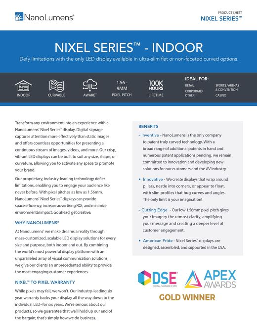 NanoLumens Nixel Indoor