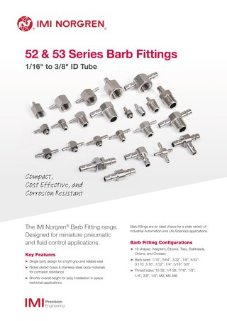 z9067SS - Barb fitting sell sheet