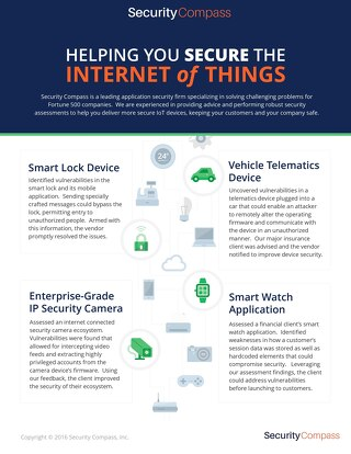 Helping You Secure the Internet of Things