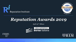 2019 Italy RepTrak Awards
