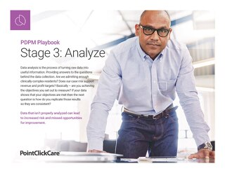 PDPM Playbook - Stage 3 Analyze