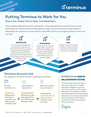 Customer Marketing - Put Terminus to Work for You