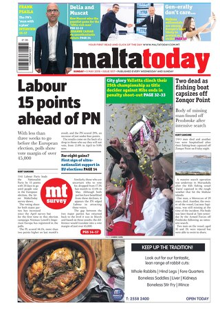 MALTATODAY 5 May 2019