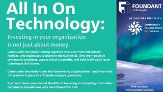 Technology ROI for Community Foundations