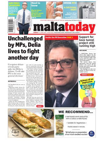 MALTATODAY 2 June 2019