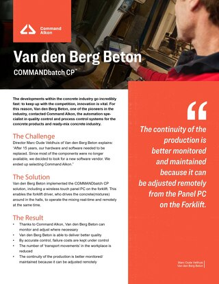 COMMANDbatchCP_CaseStudy_VanDenBerg