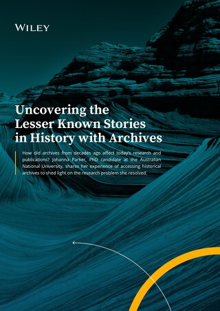 Uncovering the Lesser Known Stories in History Using Archives