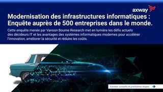 Modernisation des infrastructures informatiques: Enquête auprès de 500 entreprises dans le monde.
