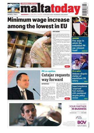 MALTATODAY 5 June 2019 Midweek