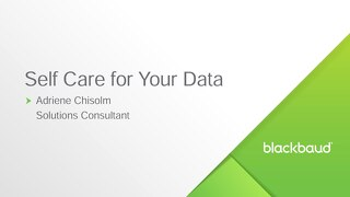 Data Health as the Default