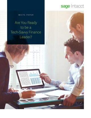 Are You Ready to be a Tech-Savvy Finance Leader?
