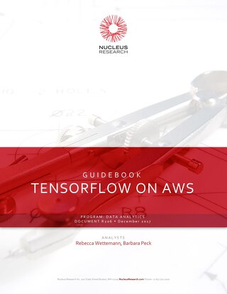 Tensorflow on AWS