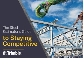 The Steel Estimator's Guide to Staying Competitive - Free eBook