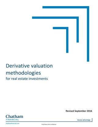 Derivative Valuation Methodologies for Real Estate Investments