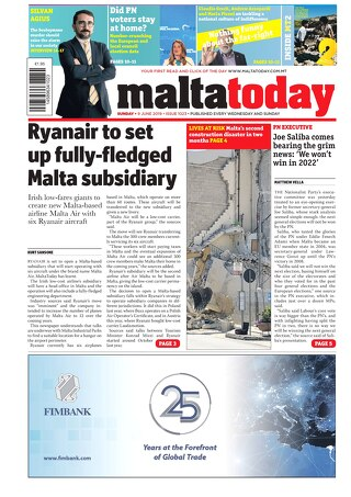 MALTATODAY 9 June 2019