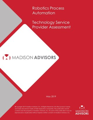RPA Technology Service Provider Assessment