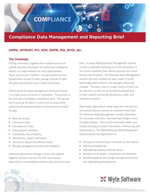 Compliance Brief
