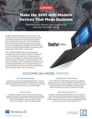 Make the shift with modern devices that mean business